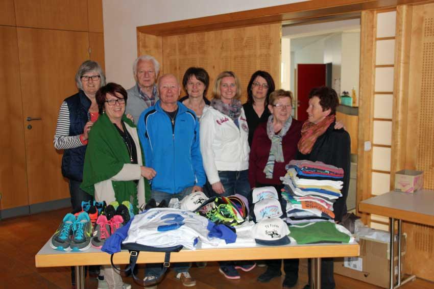 LG Passau Aufruf zur Sammlung von Sportkleidung
