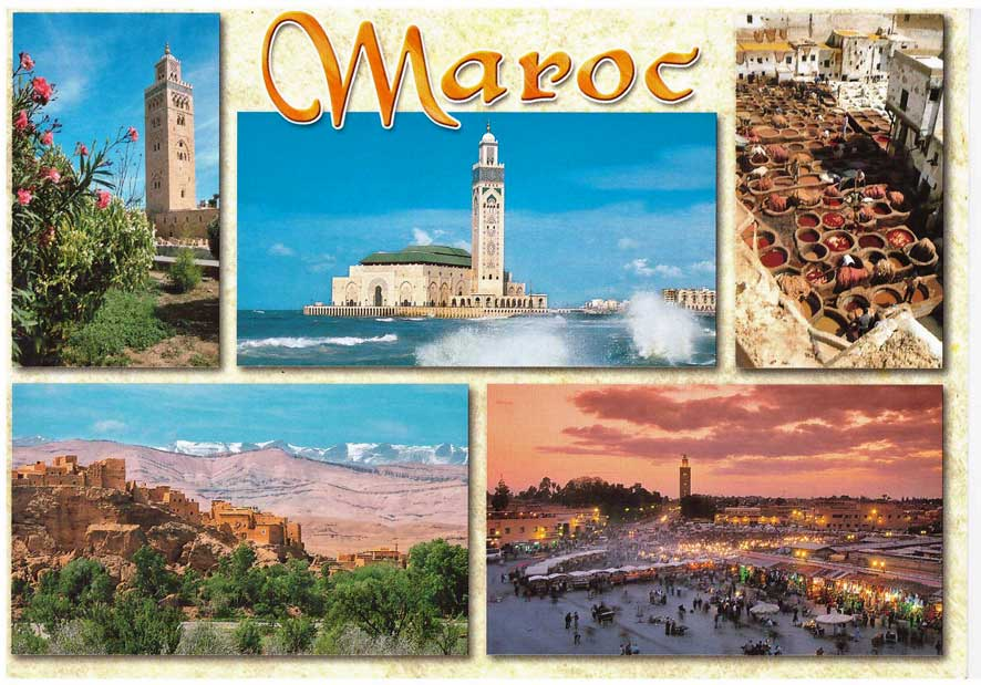 LG Passau Urlaubsgrüße Teibrich Marokko